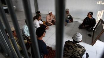 Porong fengsel i Indonesia