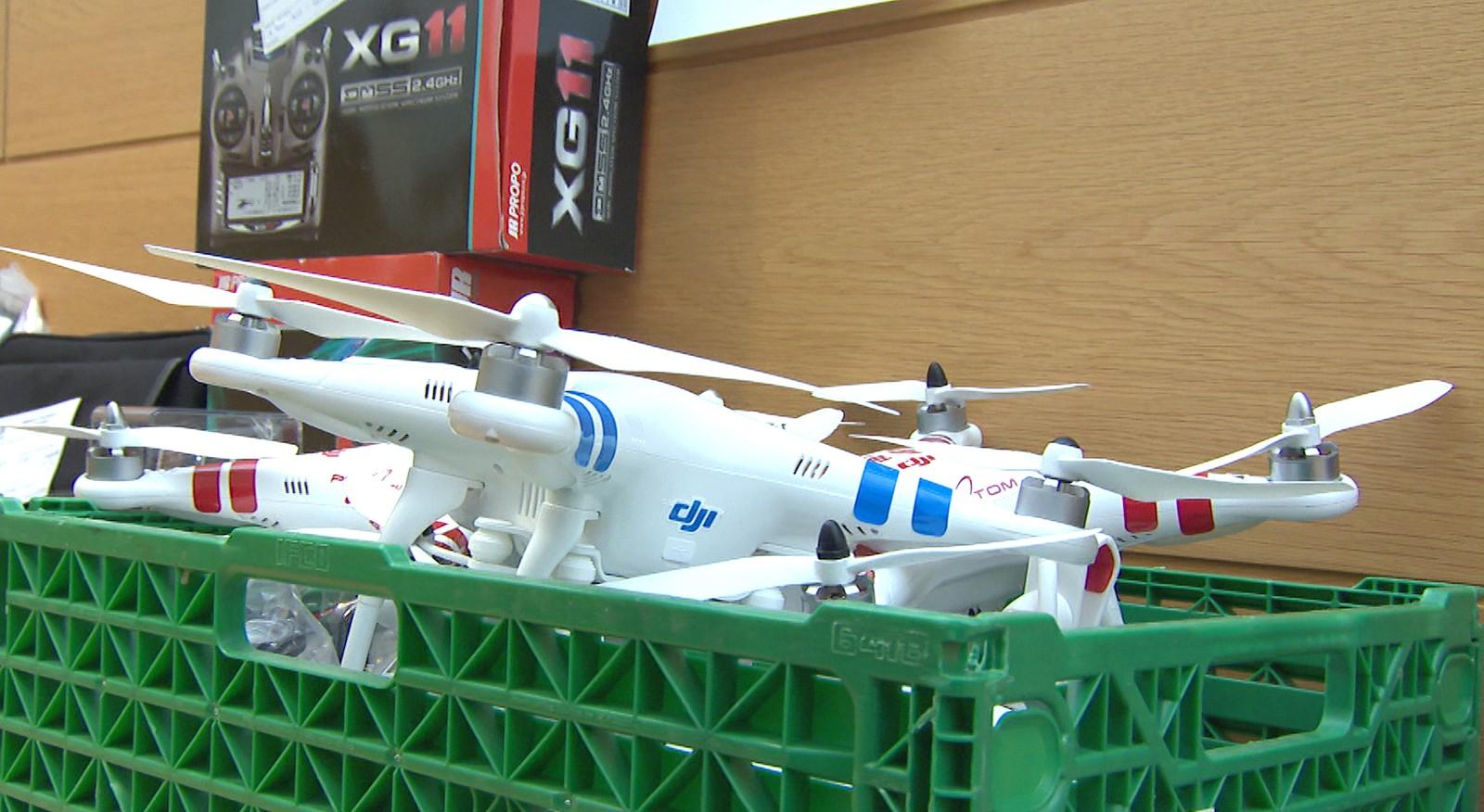 DRONAR: Mannen kjøpte fleire droner på fylkeskommunen si rekning.