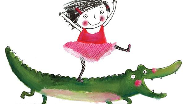 Rita er 4 år, og hennes beste venn er en krokodille.