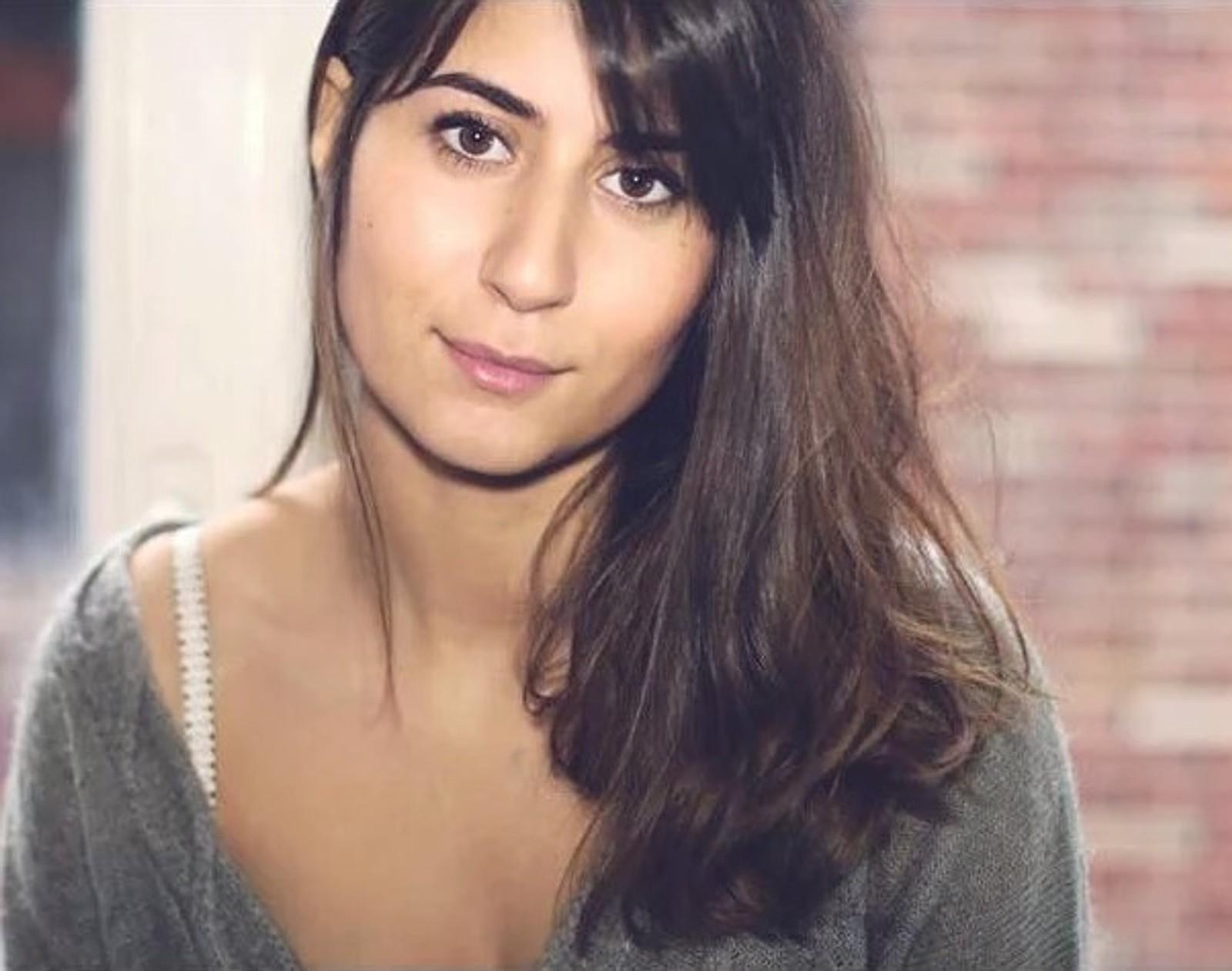 DREPT: Belgiske Elif Dogan (26) mistet livet sammen med kjæresten Milko. Hun bodde i Belgia, men reiste ofte til Paris med jobben. På Bataclan ble hun skutt og drept.