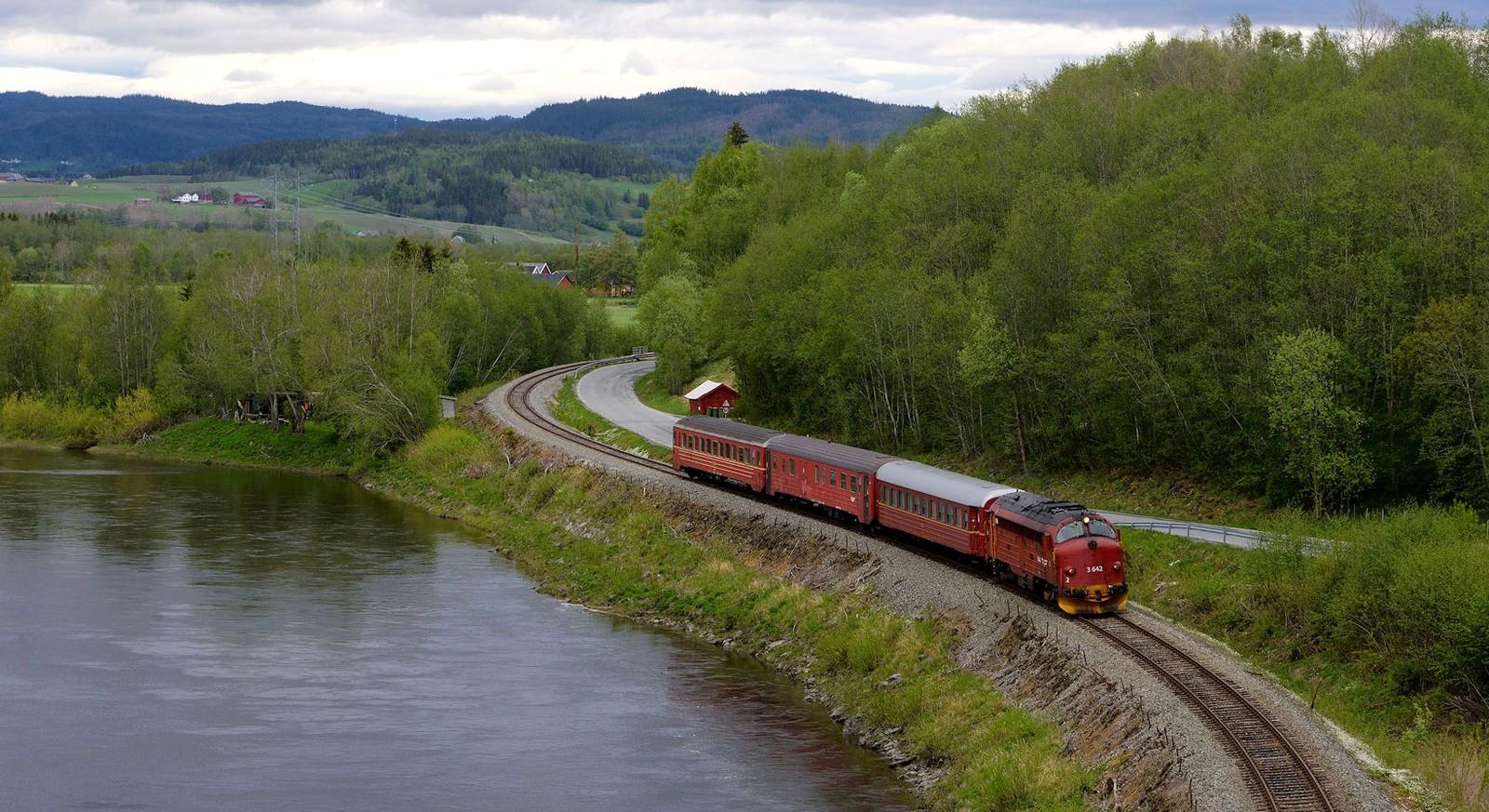 Meråkerbanen, Ertsgård i Stjørdal