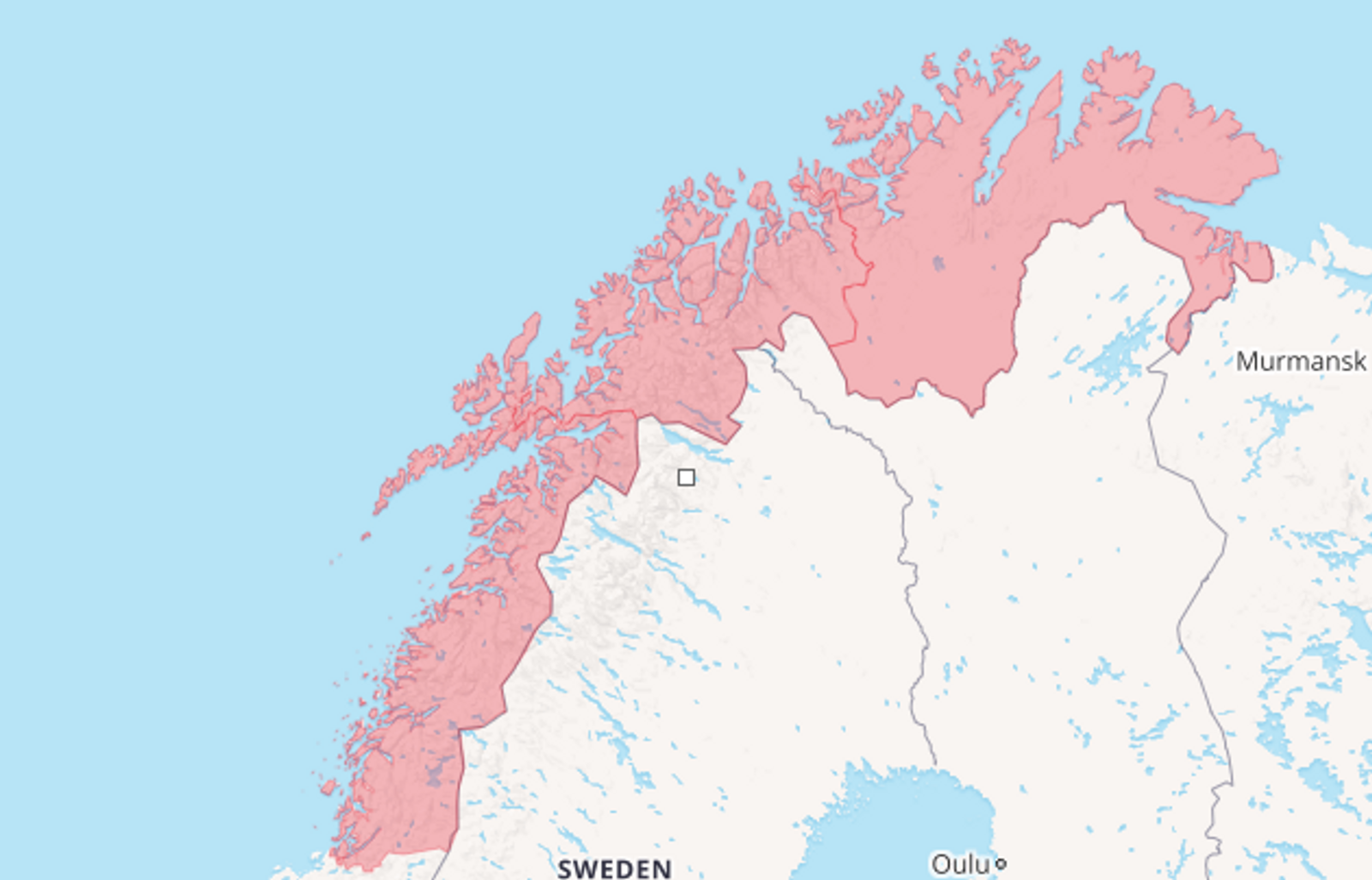 Alternativ 1: Dette er regjeringens førstevalg. Altså at hele Nord-Norge blir en region. De fire neste alternativene er i mer eller mindre grad aktuelle.