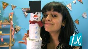 Lag snømann med Shana!