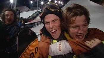 En vanvittig finale endte med Torstein Horgmo og Ståle Sandbech på pallen i Aspen (USA) lørdag. Se og hør de to norske guttas umiddelbare og elleville reaksjoner her!