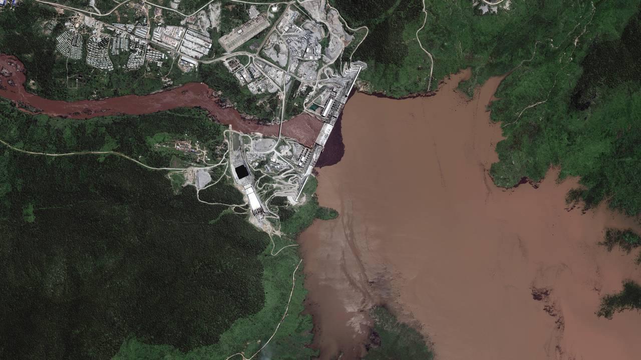 Grand Ethiopian Renaissance Dam, juli 2020
