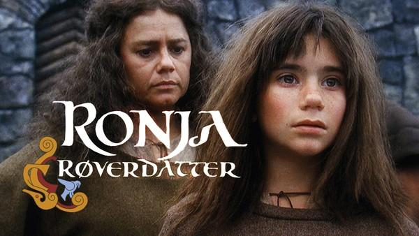 Ronja er røverhøvdingens datter. Den natten hun ble født slo lynet ned og delte borgen i to. Hvem bor på andre siden?