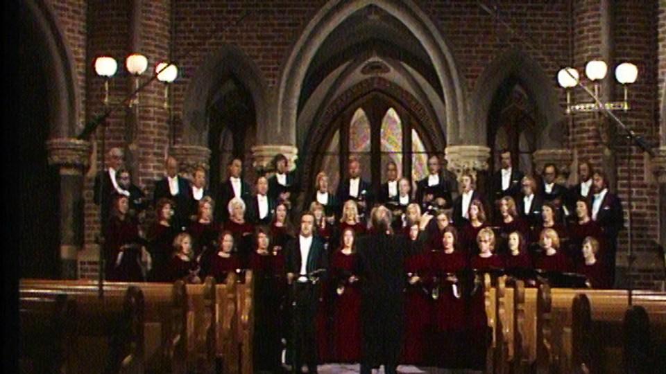 Fire salmer for blandet kor og barytonsolo av Edvard Grieg