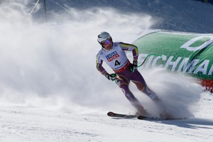 Opptak · V-cup alpint: Super-G, menn