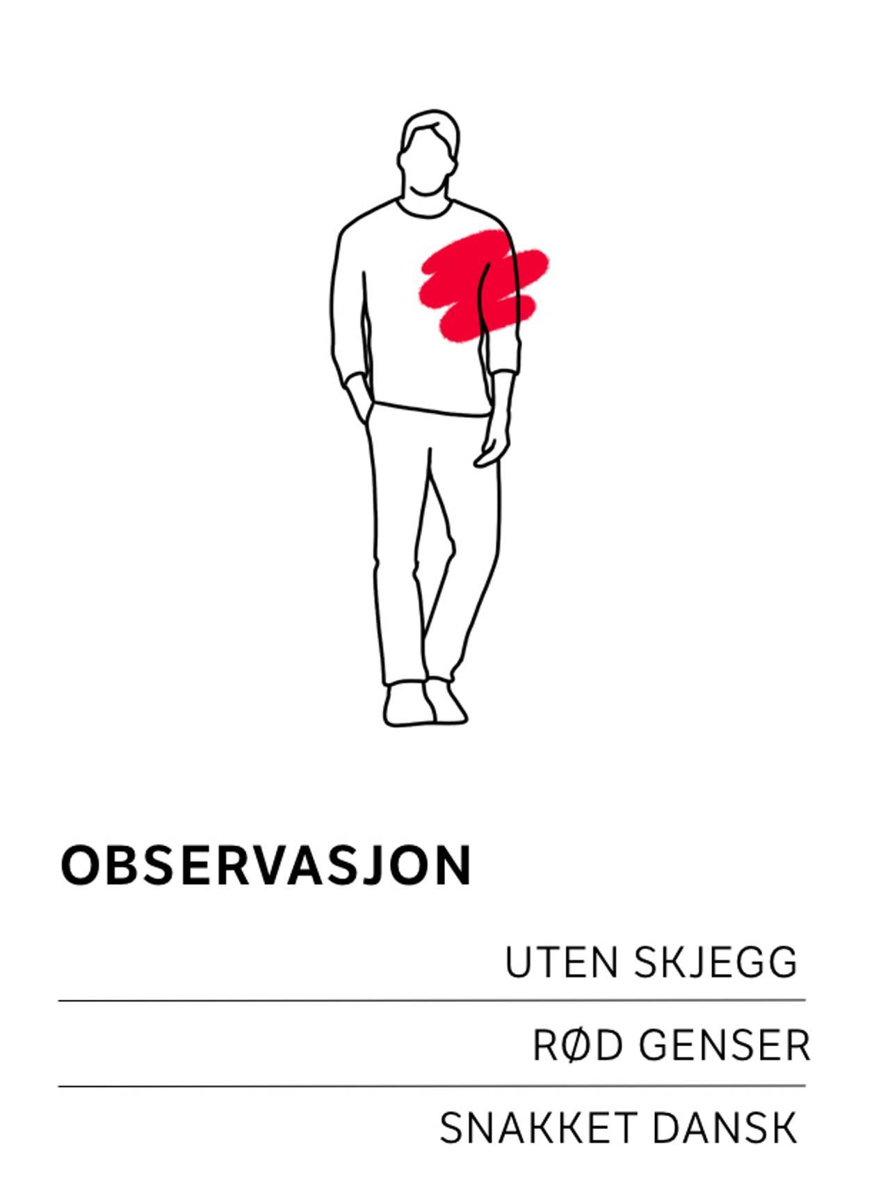 Observasjon med rød genser