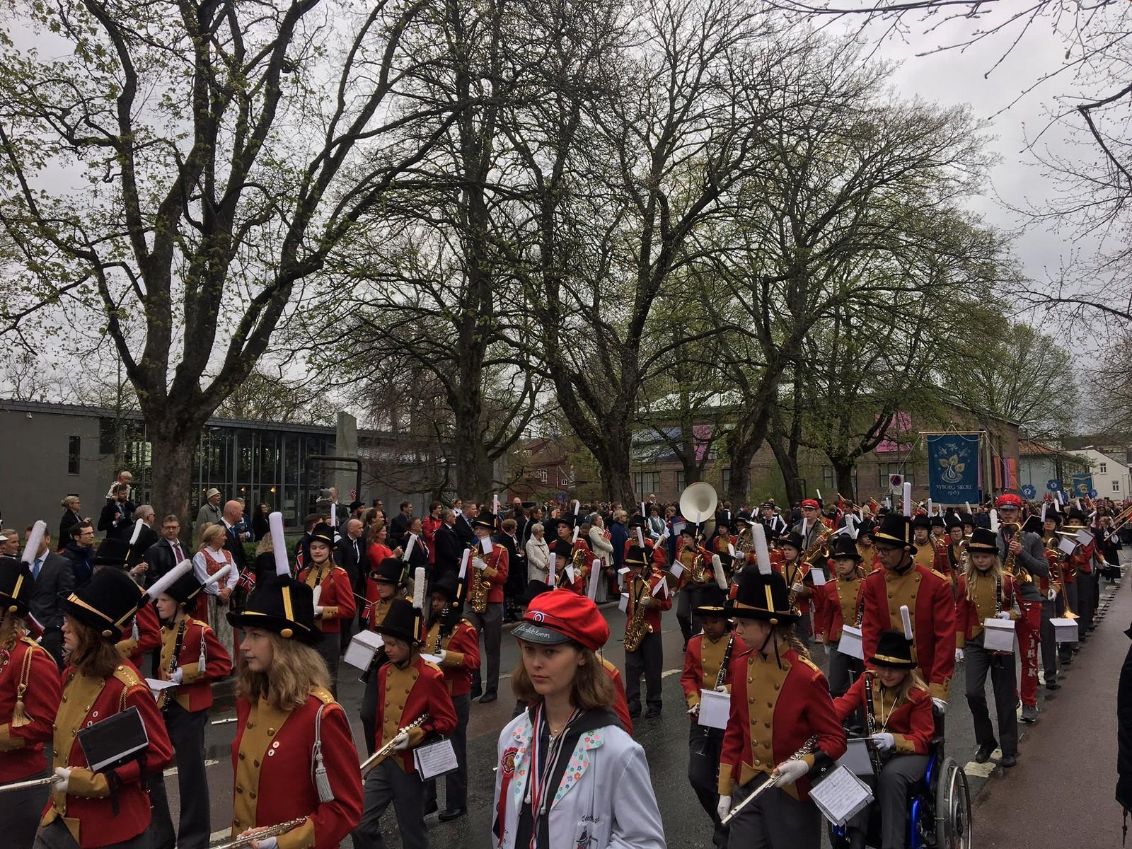 17.mai-feiring i Trondheim.