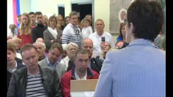 Video Sjå korleis folkemøtet på Fedje gjekk her.
