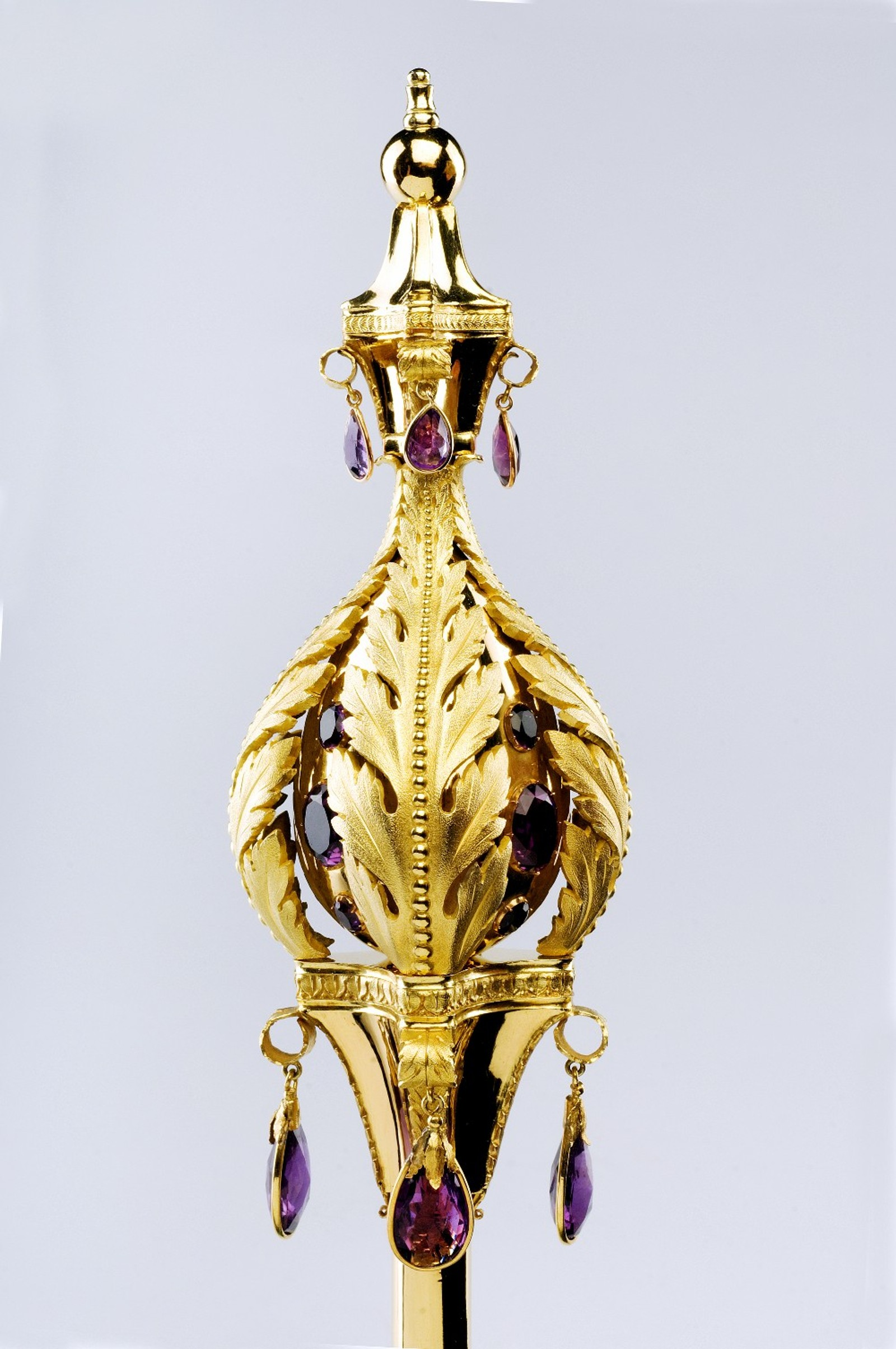 Dronningens septer - laget i Stockholm i 1830