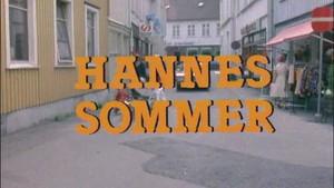 Hannes sommer - TV