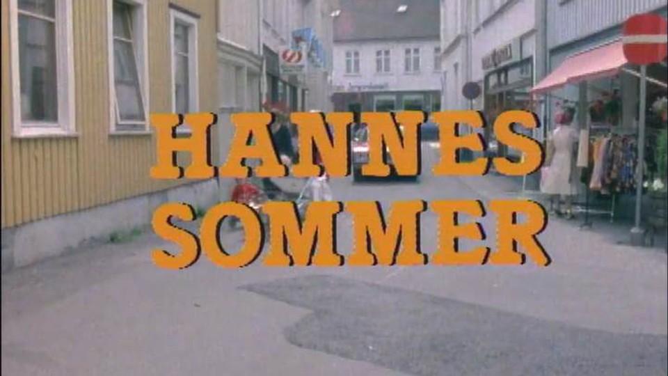 Hannes sommer