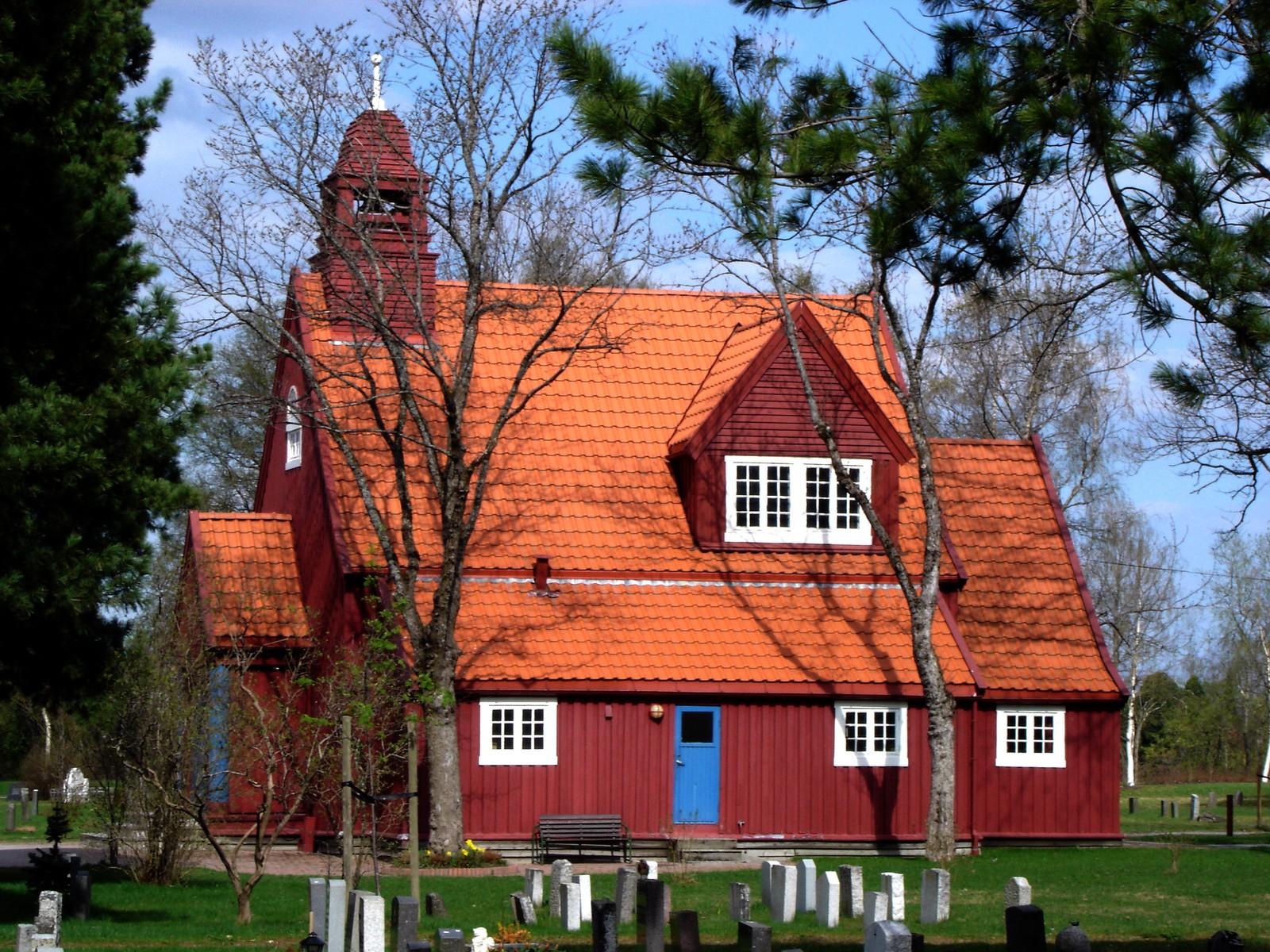 Stavne kapell ble vigslet i 1916. Kapellet har 80 plasser og tilhører Ilen menighet.