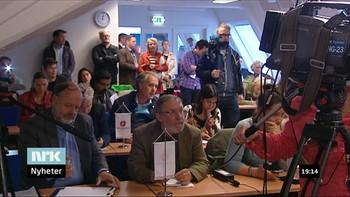 Partiet reagerte på å bli fremstilt som høyreekstremt da internasjonal presse omtalte det norske valget, og ønsket å korrigere bildet på en pressekonferanse. De fleste som møtte opp på pressekonferansen var norske medier.
