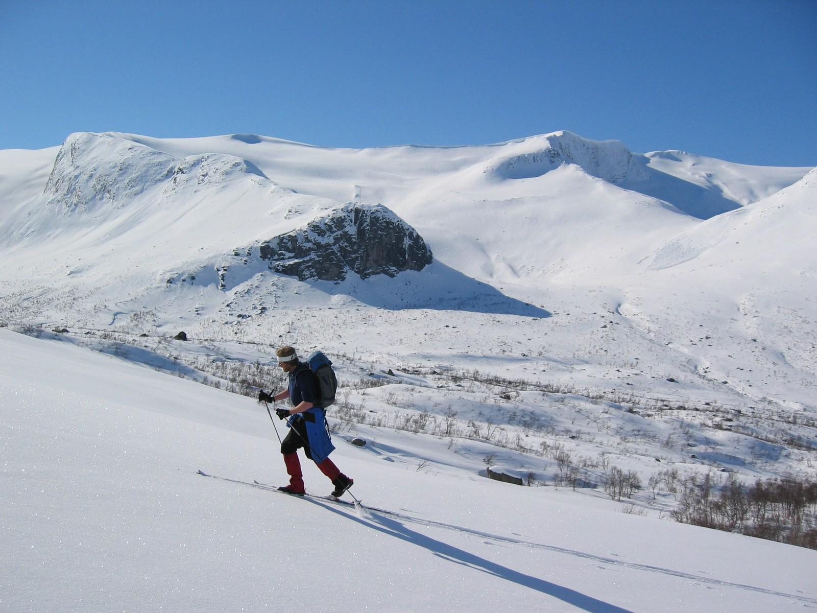 Ved Befringsstøylen opp frå Stardalen. Bjørga i bakgrunnen.