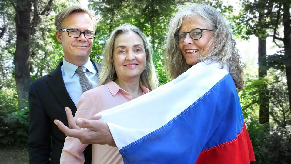 Mitt møte med Russland