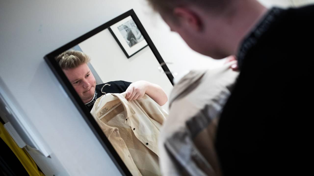 Leif i speilet