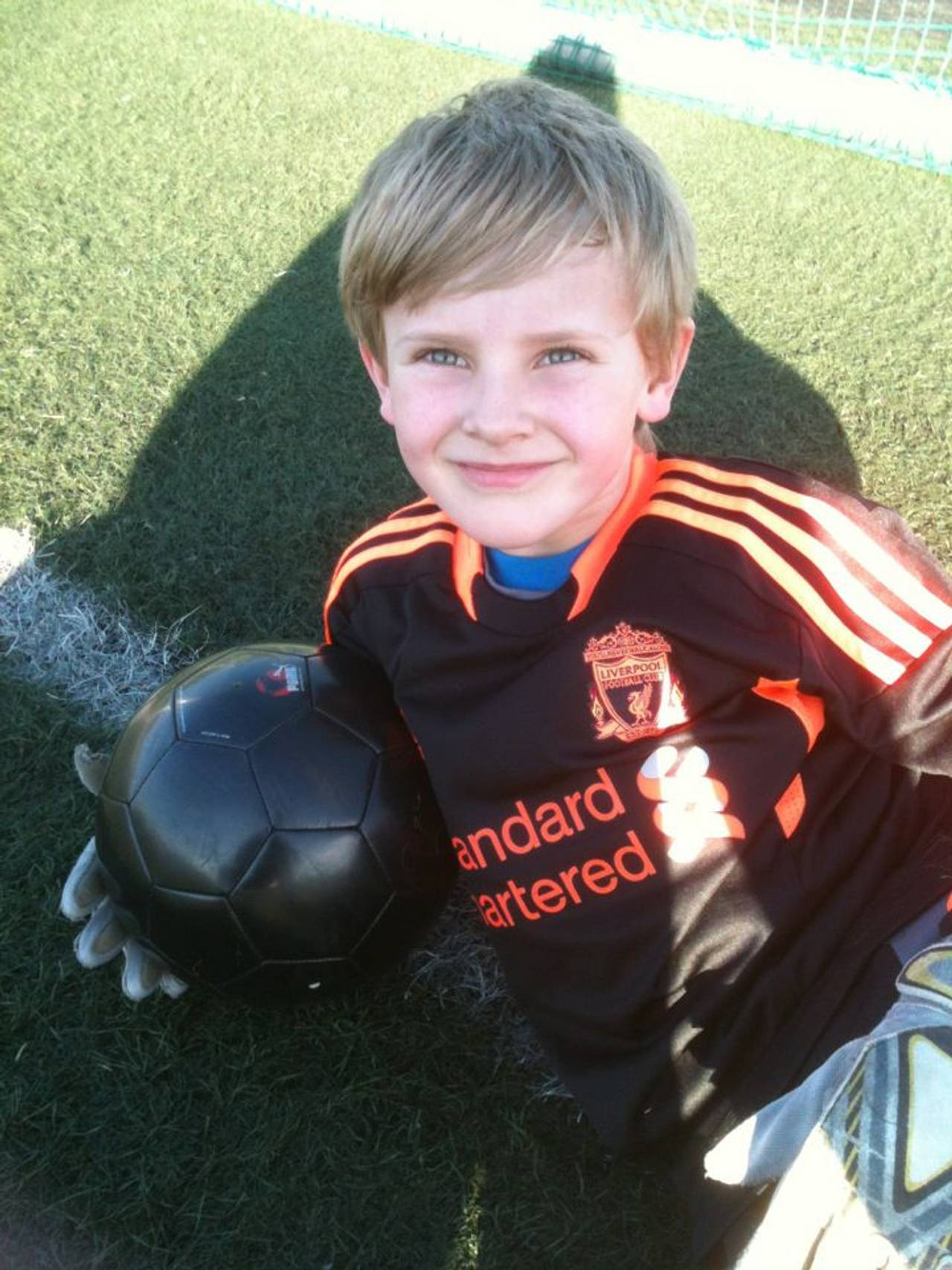 Joakim Visnes, fotball, 8 år