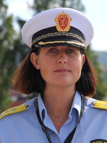 Rita Kilvær, konstituert politimester i Telemark