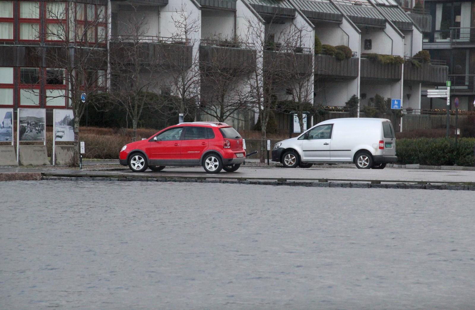 Høyvann ved Gjestehavna
