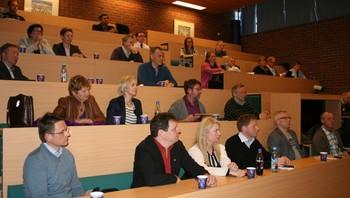 Workshop på Barentshavkonferansen 2012.