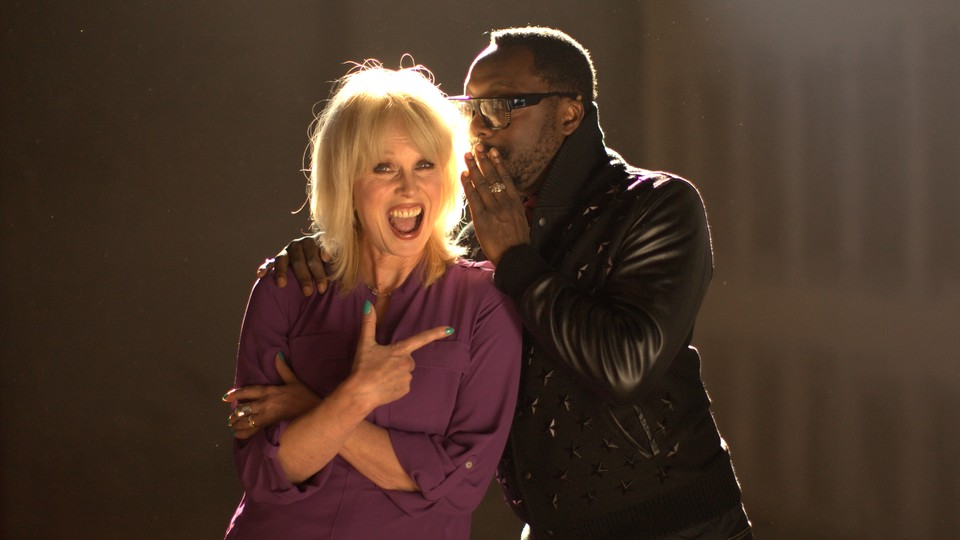 Joanna Lumley møter Will.i.am