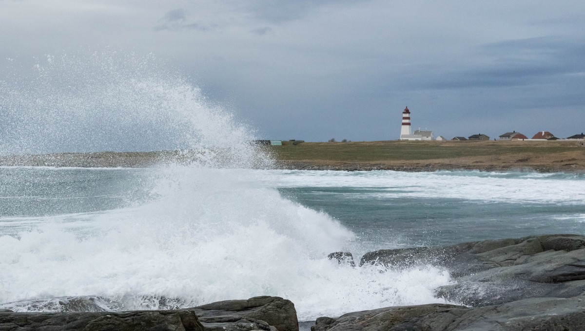 VÆR OG VIND: Vinden påvirker været på mange måter.