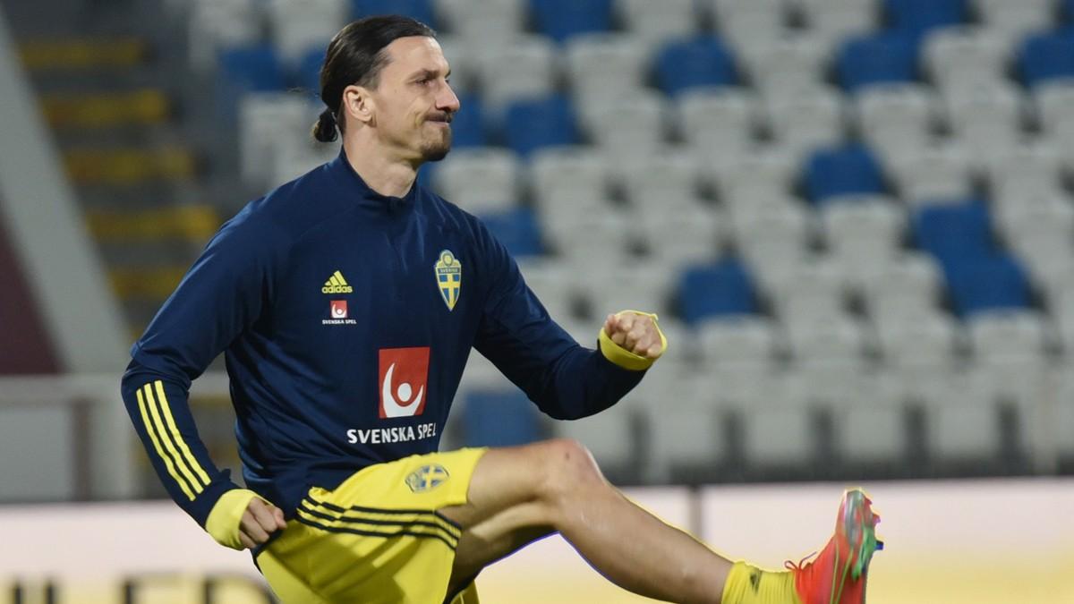 Zlatan  med  i  Sveriges  VM-tropp