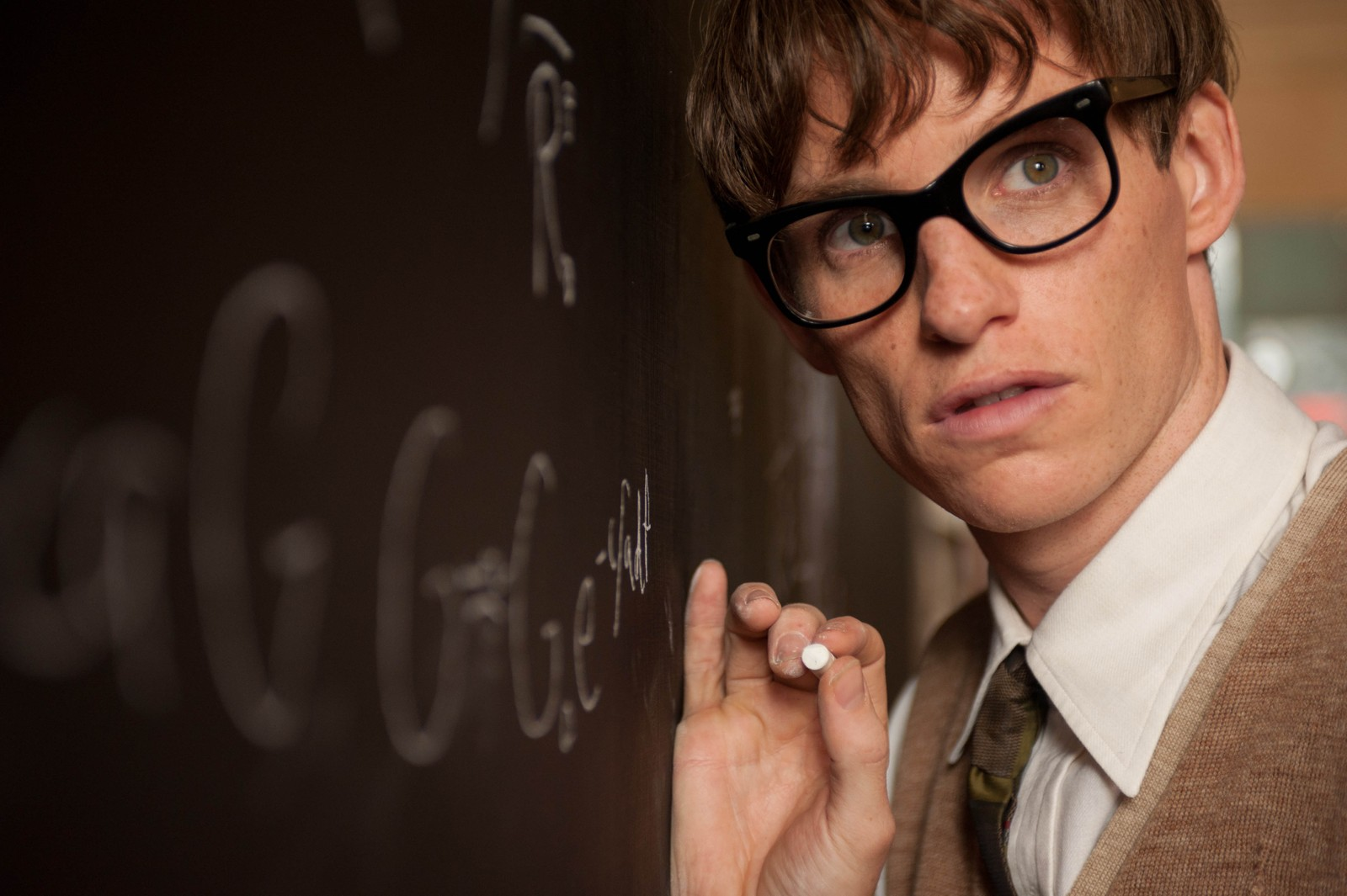 NOMINERT BESTE MANNLIGE HOVEDROLLE: Eddie Redmayne i «The Theory of Everything».