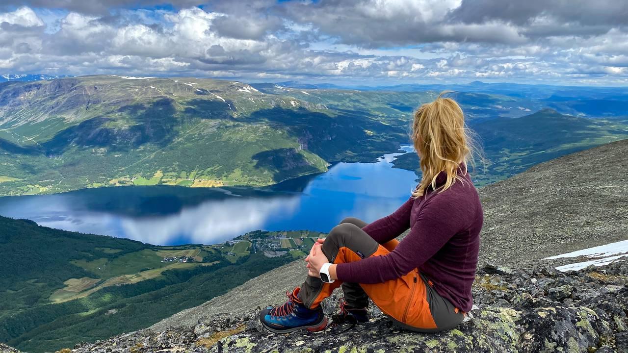 Heidi Tindvik på Grindane i Vang i Valdres