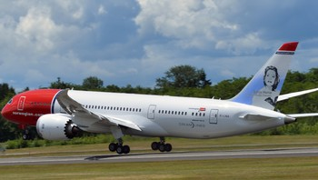 Norwegians første Dreamliner-fly