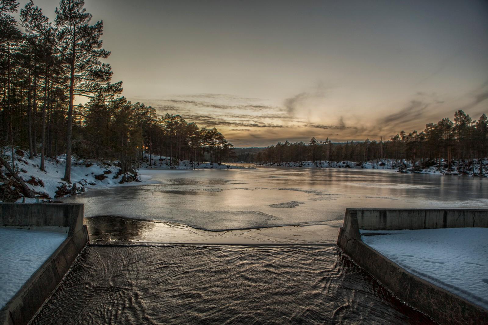 Demningen på Stavsjøen