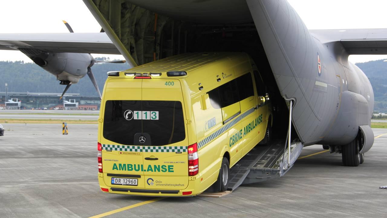 Hercules som ambulanse