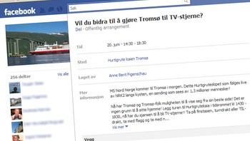 Hurtigrutegruppe på Facebook