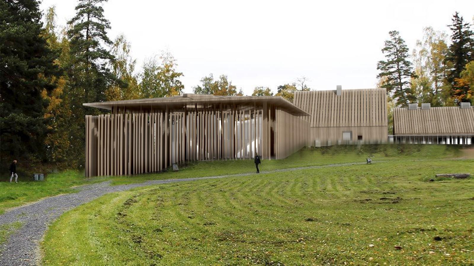 Byggearbeidet med Hegnhuset, det såkalte læringssenteret, er nå i gang. Ferdigstilling er planlagt sommeren 2016.