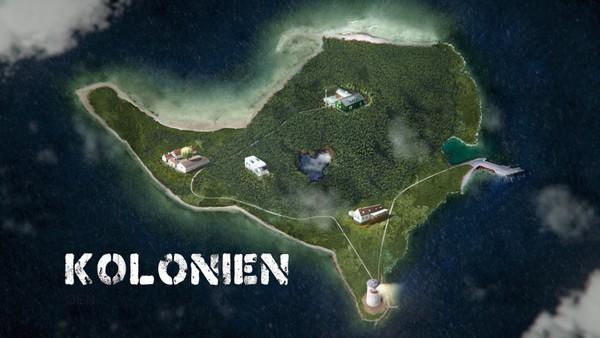 Viktoria, Albert, Niklas, Carl og Milan møtes på havna med de andre barna som skal på koloni. Allerede første dag begynner mystiske ting å skje. Dansk drama.