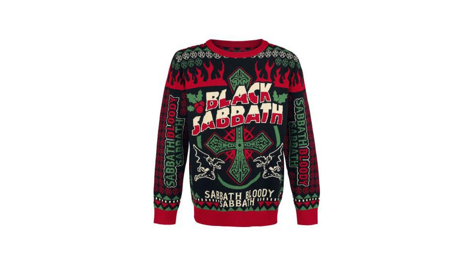 «Sabbath bloody sabbath» skriver Black Sabbath på sin julegenser. Med denne har du full tilatelse til å slappe av hele juleferien.
