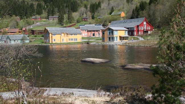 United World College i Flekke. Foto: Ottar Starheim, NRK.