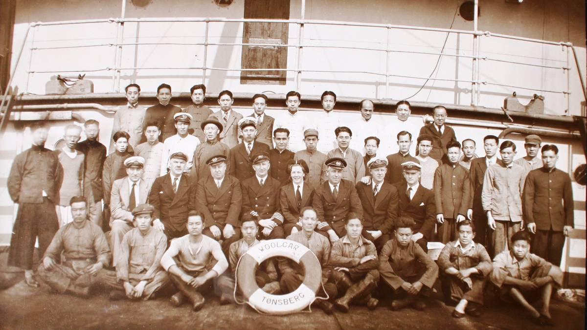 – Handelsflåten var avhengig av utlendinger under krigen