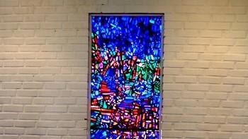 Glassmaleri av Jakob Weidemann i Steinkjer kirke