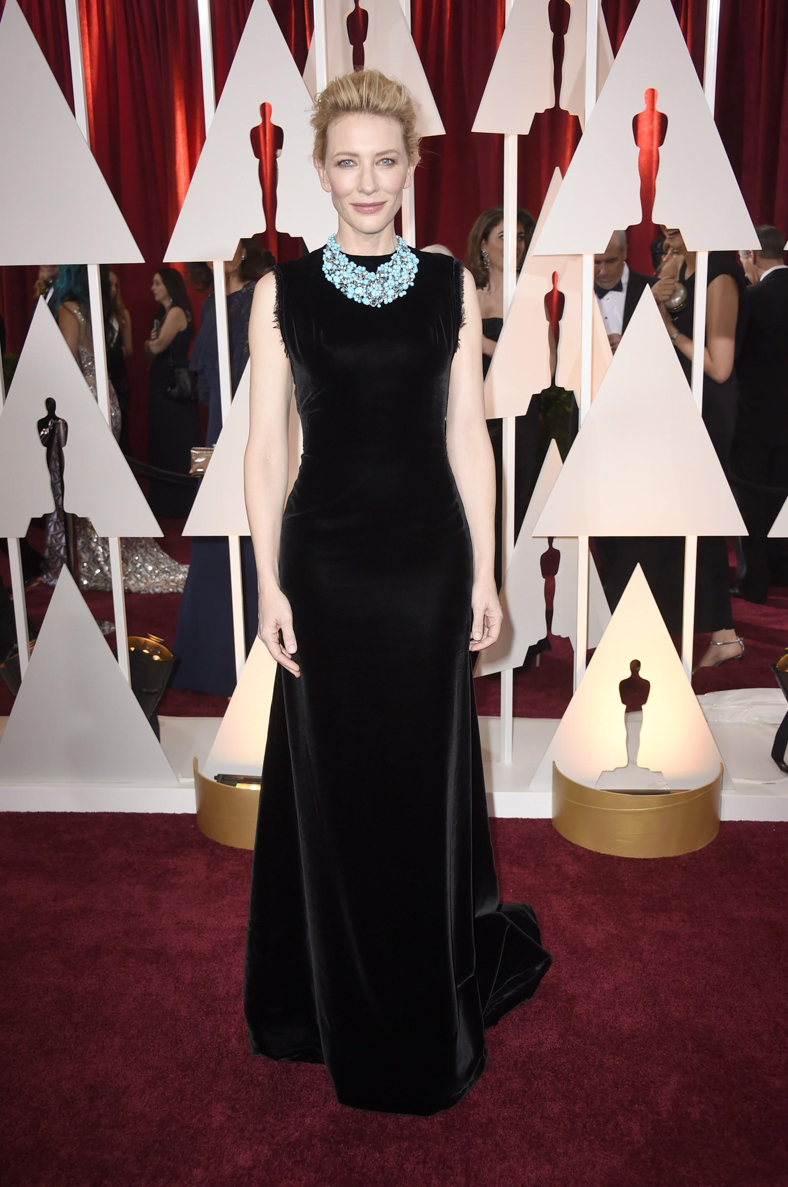 NUMMER TRE: Cate Blanchett.