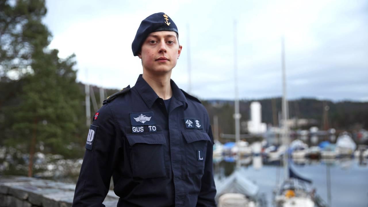 Matros Pål André Gustavson (22) forteller om dramaet på KNM Helge Ingstad
