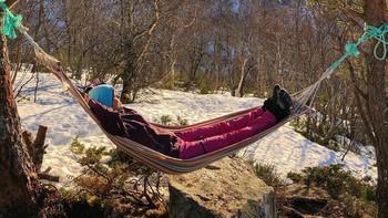 LITE SNØ: Fleire stader i landet er det mykje mindre snø enn normalt til å vere slutten av februar.