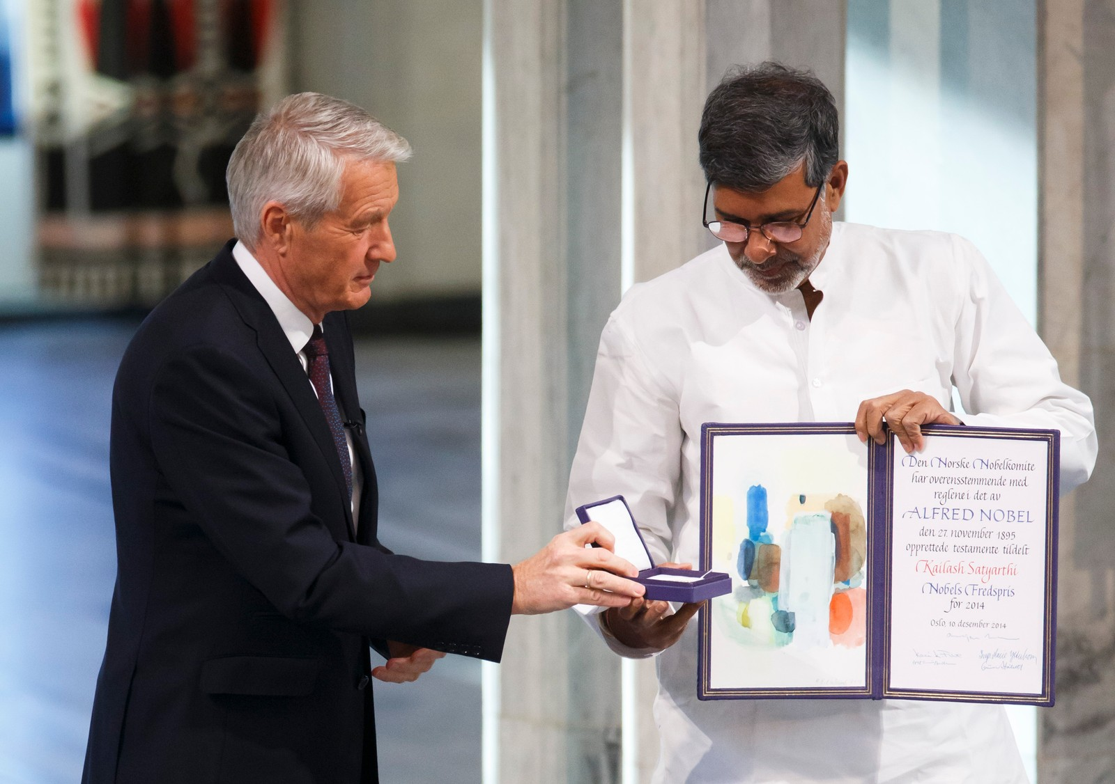 FÅR PRISEN: Fredsprisvinner Kailash Satyarthi.