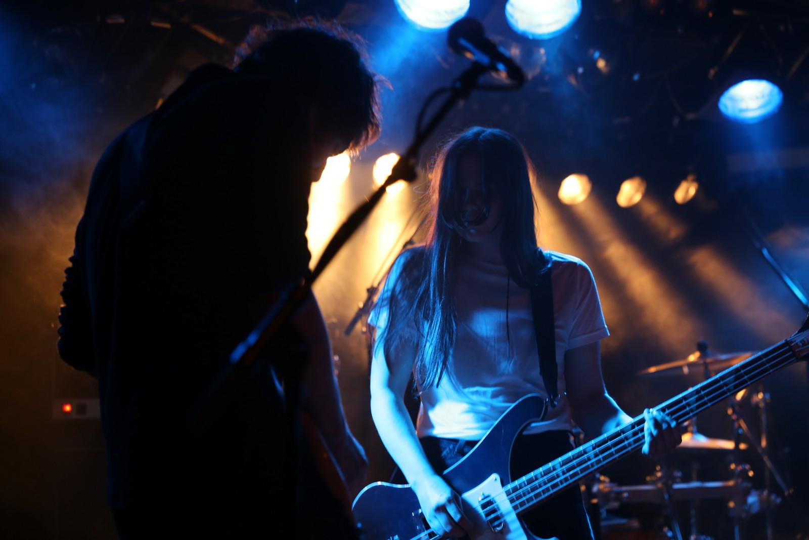 Richard Myklebust og Linn Frøkedal har turnert på fleire kontinent saman med The Megaphonic Thrift.
