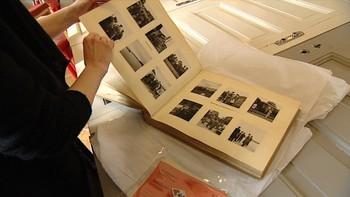 Video Unike bilder av Josef Terboven i Norge