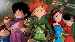 Robin Hood, rampestreker i Sherwood-skogen