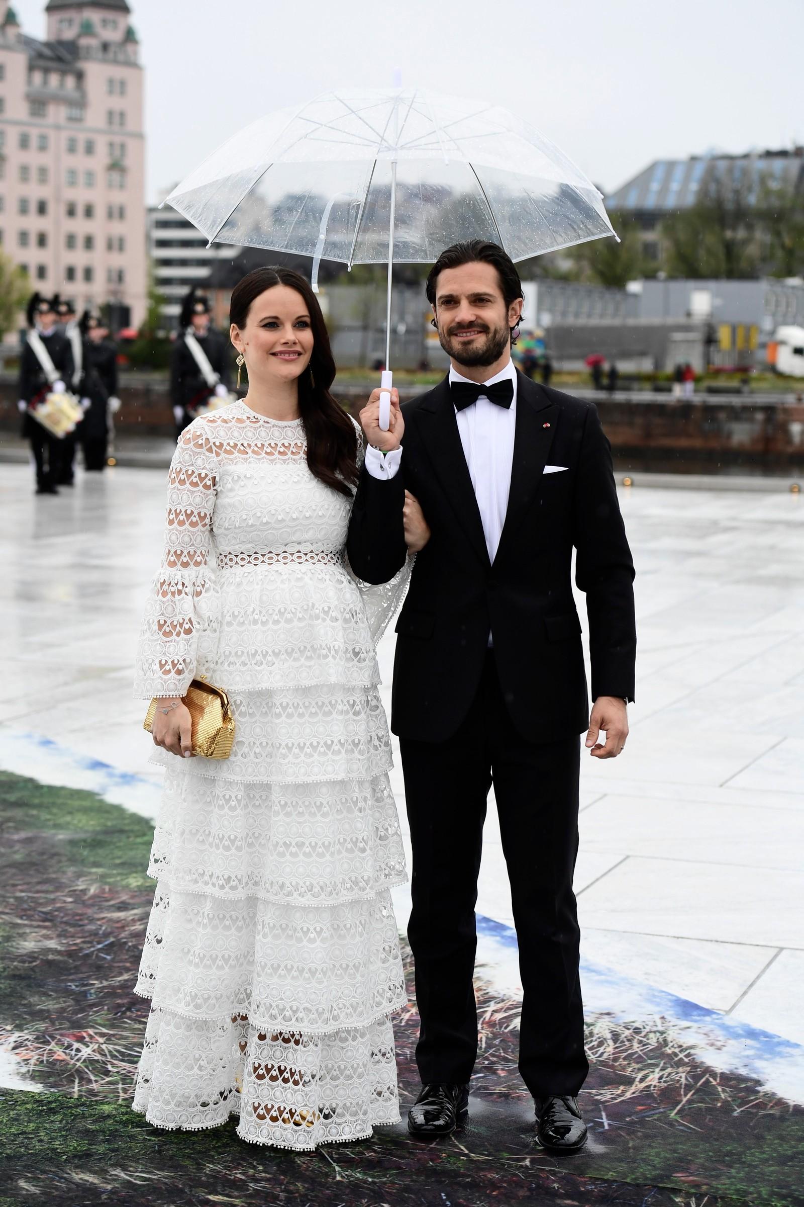 Sveriges prins Carl Philip og prinsesse Sofia venter barn nummer to i september.